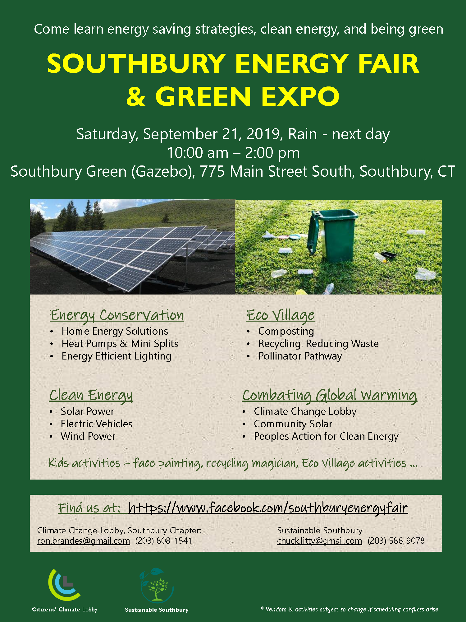 Green Energy Solutions for Towns & Cities | CT Green Bank